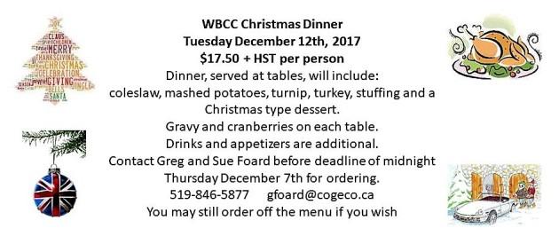 WBCC Christmas Dinner 2017 03